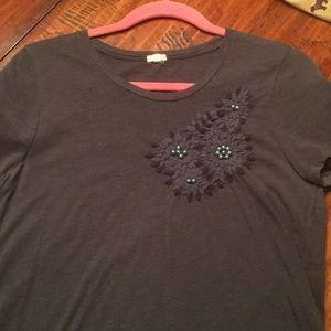 women's jcrew t-shirt
